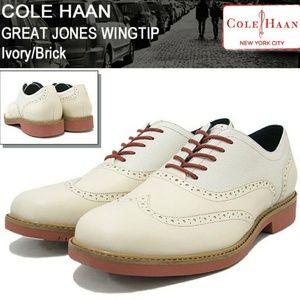 Cole Haan Great Jones Wingtip Oxford shoes
